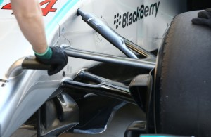 Prednji ovjes na Mercedesu W05 (2014.) Foto: f1technical
