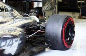 Stražnji ovjes na McLaren Mercedesu MP4-29 (2014.) Foto: McLaren