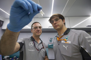 mercedes fuel staff